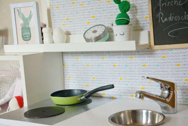 Titantina's Ideen: Upcycling: aus Nachtkästchen wird Spielküche