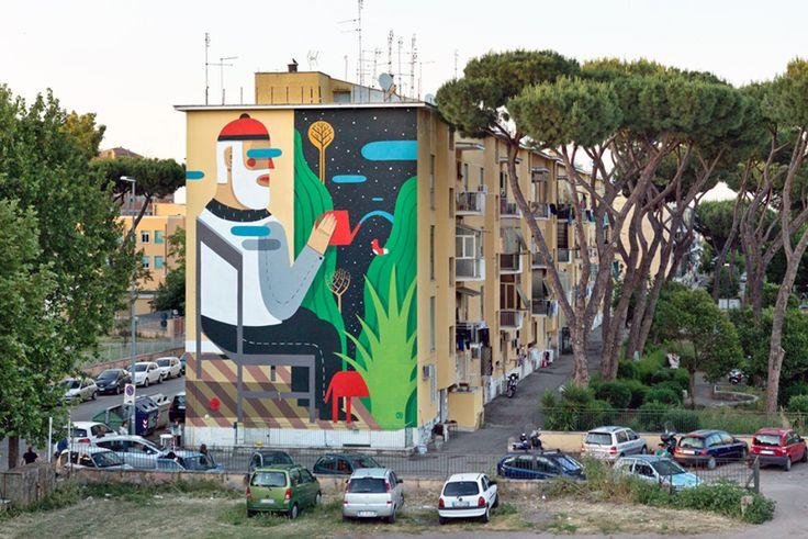 San Basilio Roma- Murales- Street Art