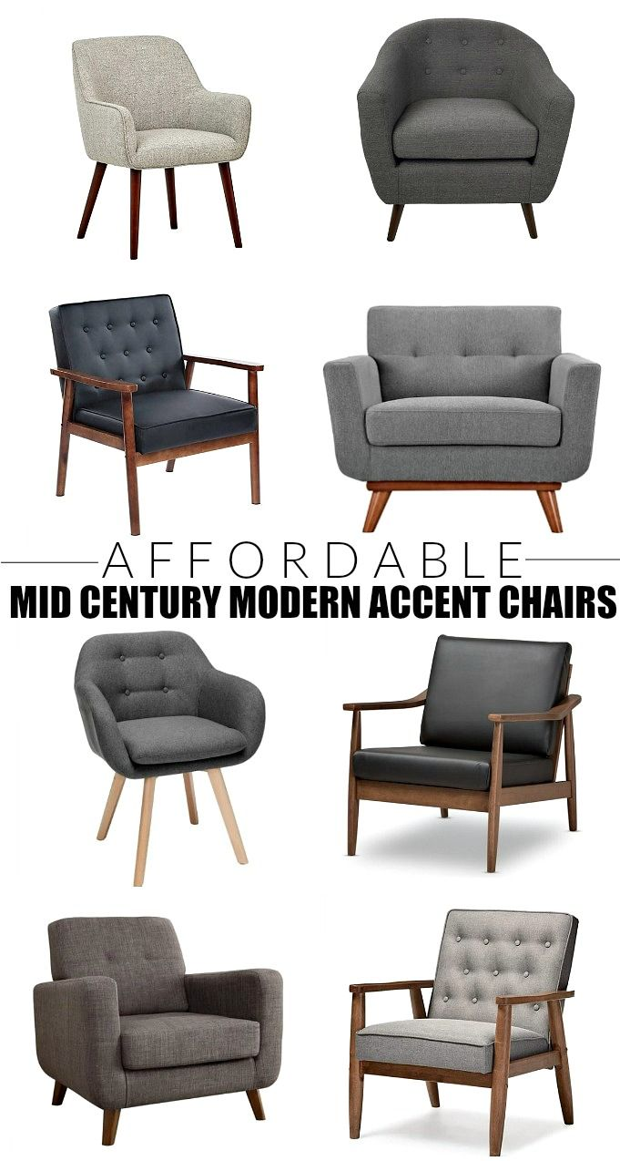 Stylish And Budget Friendly Mid Century Modern Accent Chairs Mid Century Modern Accent Chairs Mid Century Modern Chair Mid Century Modern Living Room