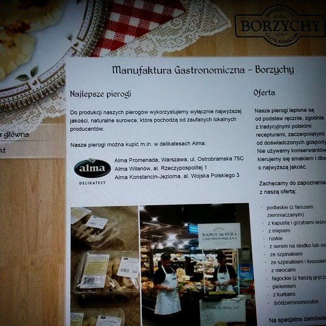 www.pierogi-domowe.pl #website #strona #razdwaprojekt #MODX www.razdwaprojekt.pl/portfolio/manufaktura-borzychy