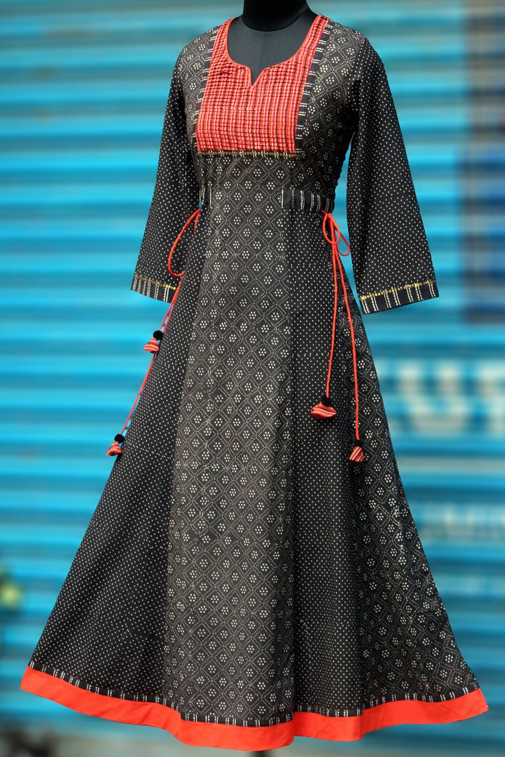 a beautiful, elegant long anarkali that's perfectly fitted till the hips and flares at the base. the anarkali has subtle hand embroidery with sequins in antiq