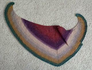 Sew wonderful simple shawl