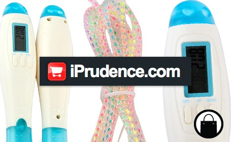 Try a calorie counting Jump Rope from iPrudence.com http://bit.ly/hyfvEO