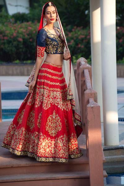 Most Inspiring Bridal Lehenga of 2017 Bridal-lehenga-Designs bespoke bridal lehengas - lenghas, latest Bridal lehenga designs, engagement lehenga outfits