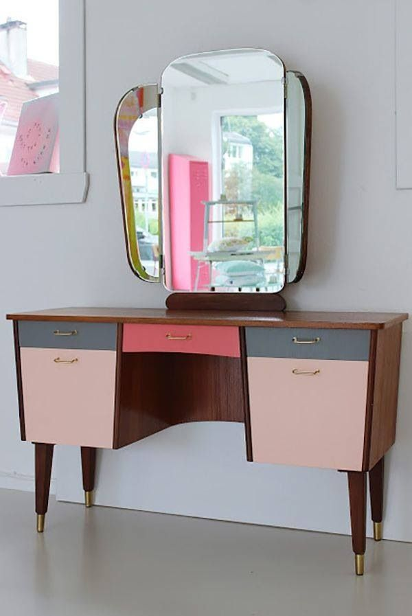 Dressing table - painted cupboards?