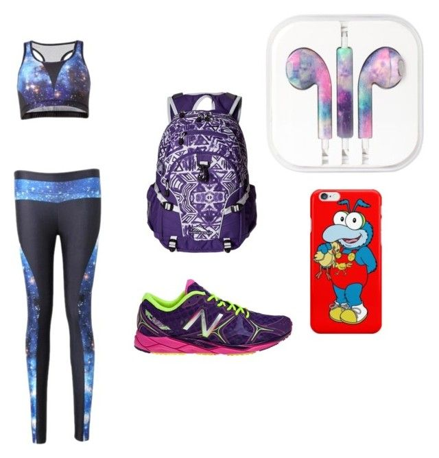 gym by cocoblair25 on Polyvore featuring High Sierra