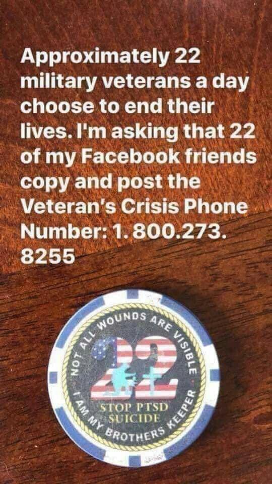 Veterans Mental Health Hotlines American Proud Pinterest