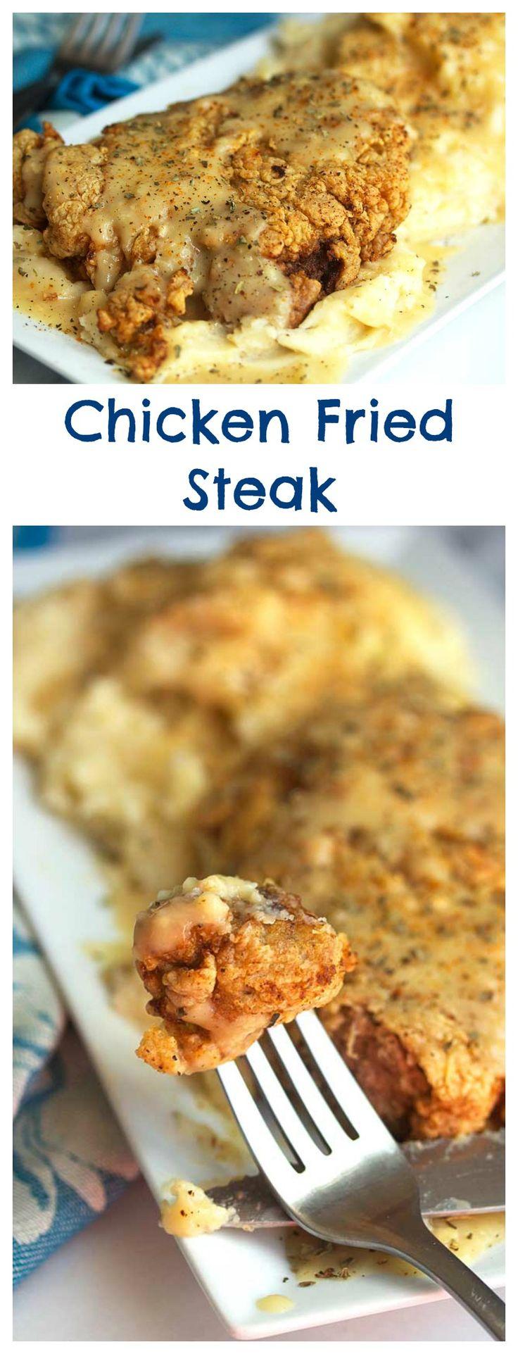 Chicken Fried Steak | Grandbaby Cakes
