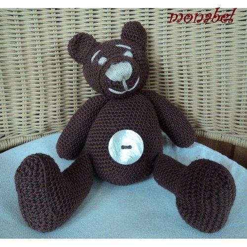 Medvídek /ručně háčkovaný/