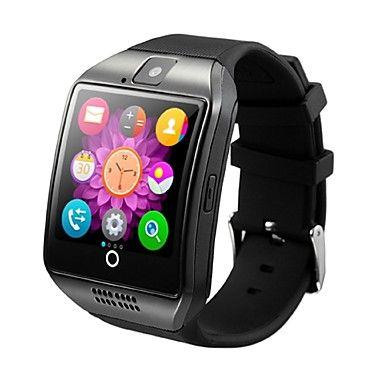 Q18+Relógio+Inteligente+Monitor+de+AtividadeSuspensão+Longa+Calorias+Queimadas+Pedômetros+Tora+de+Exercicio+Câmera+Relogio+Despertador+–+EUR+€+39.19
