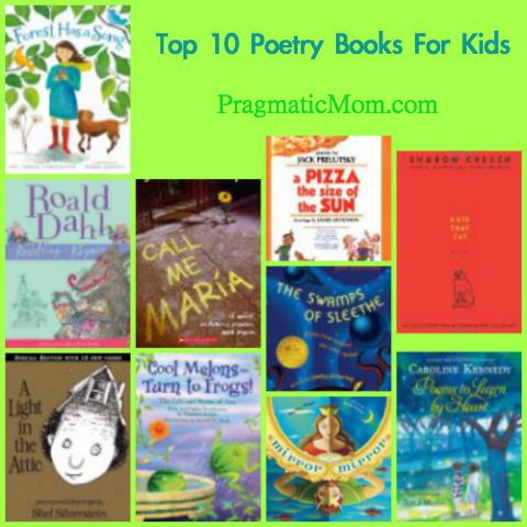 Top 10: Best Poetry Books for Kids :: PragmaticMom