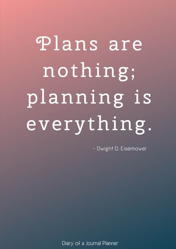 Planning Quotes 12 Amazing Quotes About Planning To Live By In
