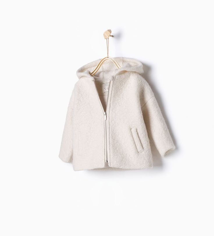 Wool jacket-Coats-Baby girl-Baby | 3 months - 3 years-KIDS | ZARA United States