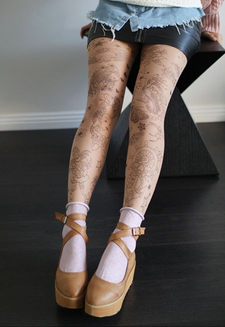 How to make Tattoo Tights photo 1