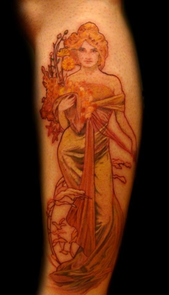 66 best Art Nouveau Tattoos images on Pinterest | Art ...