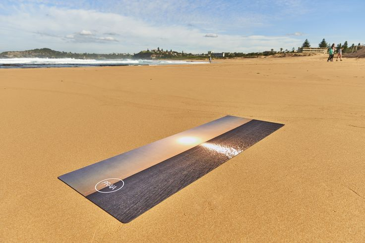 PRAIA's OVERGLOW Natural Rubber Yoga Mat. Available in store for $100.00  #yoga #natural #australia #PRAIAyoga #PRAIA