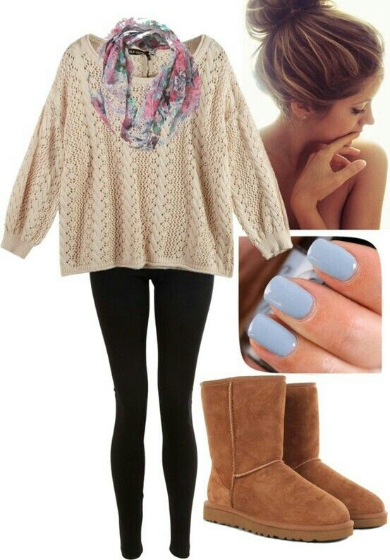Cute lazy day outfit