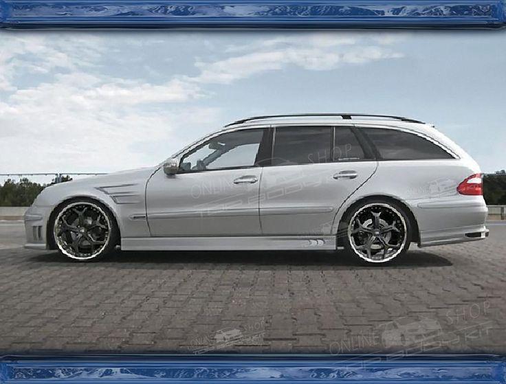 Nice Mercedes: Mercedes E-class W211 Estate Body kit  Mercedes Benz E Class Check more at http://24car.top/2017/2017/07/07/mercedes-mercedes-e-class-w211-estate-body-kit-mercedes-benz-e-class/