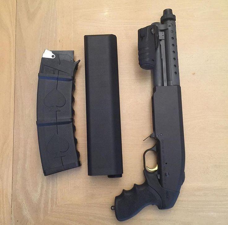 Saiga 12 Bullpup Shotgun – Jerusalem House