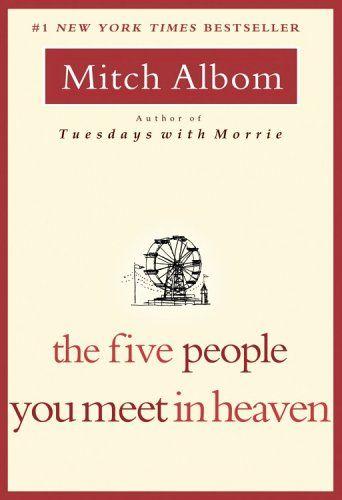 Bestseller books online The Five People You Meet in Heaven Mitch Albom