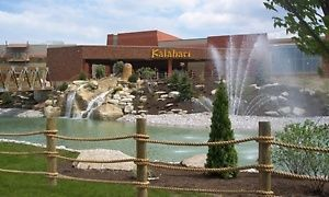 Groupon - Stay at Kalahari Resorts & Conventions in Pocono Manor, PA in Pocono Manor, PA. Groupon deal price: $239