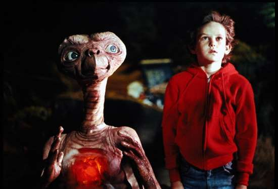 """""""E.T. THE EXTRA-TERRESTRIAL"""" -- Steven Spielberg's classic is one of his most flawless movies. Capturing a friendship between a boy ... - Universal"""