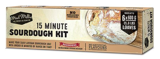 15 Minute Sourdough Kit - Avail in NZ Only
