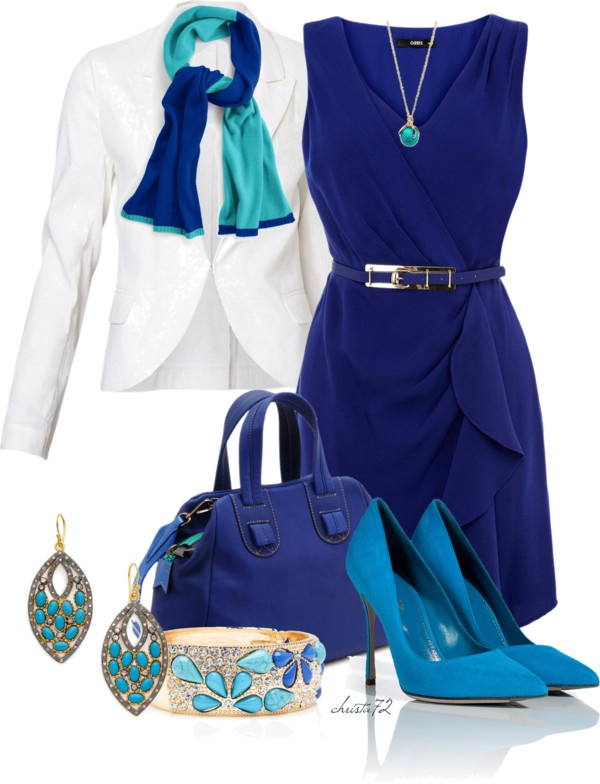 """""""Turquoise"""" by christa72 ❤ liked on Polyvore"""