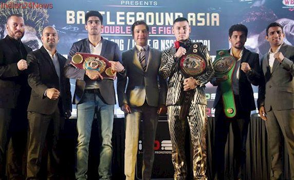 Vijender Singh to take on China's Zulpikar Maimaitiali in Mumbai in double title bout