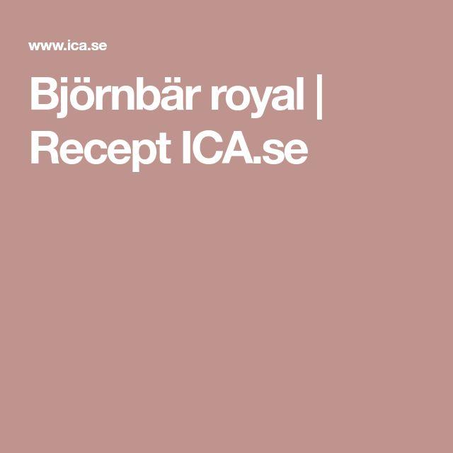 Björnbär royal | Recept ICA.se
