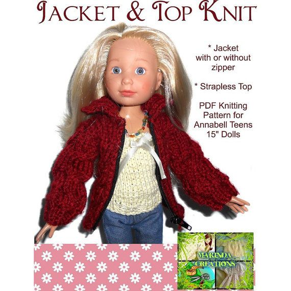 Knitting Without Needles Pdf : Very cute jacket sweater with zip and top knitting pattern