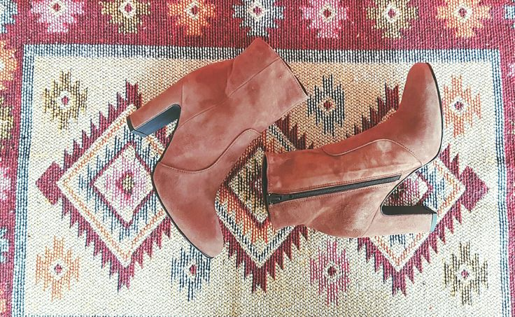 suede ankle boots nude camel