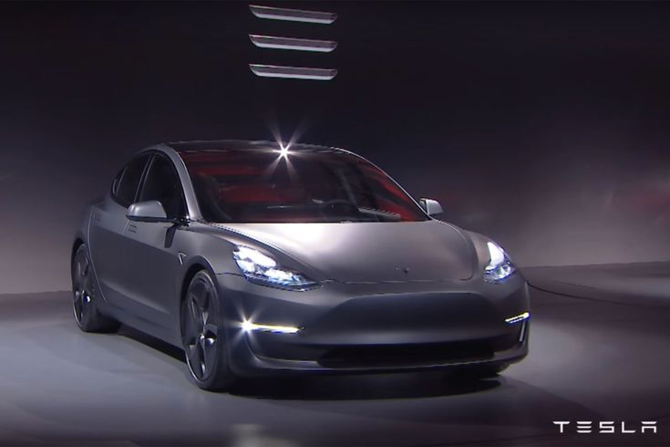 Tesla Motors - Model 3 1/8