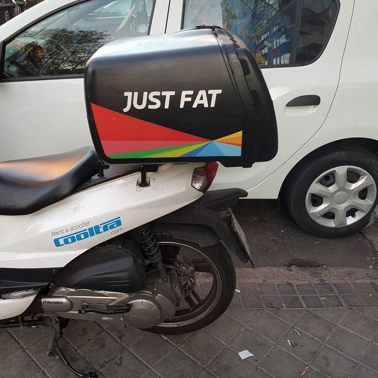 New brand #JustFat #justeat #cycle #humor