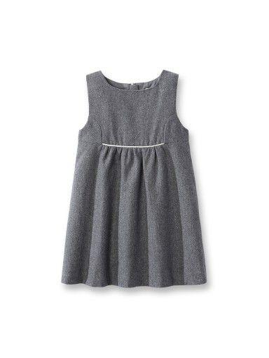 Wollen jurk met lovertjes