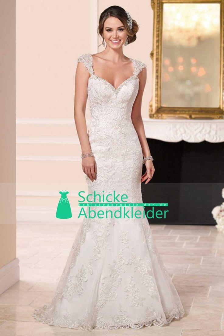 2016 reizvolles geöffnetes zurück Hochzeits-Kleider weg von der Schulter mit Applikationen und Perlen Tüll