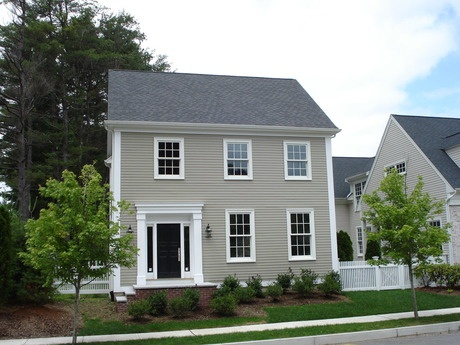 186 best colonial new england houses images on pinterest for New england colonial style
