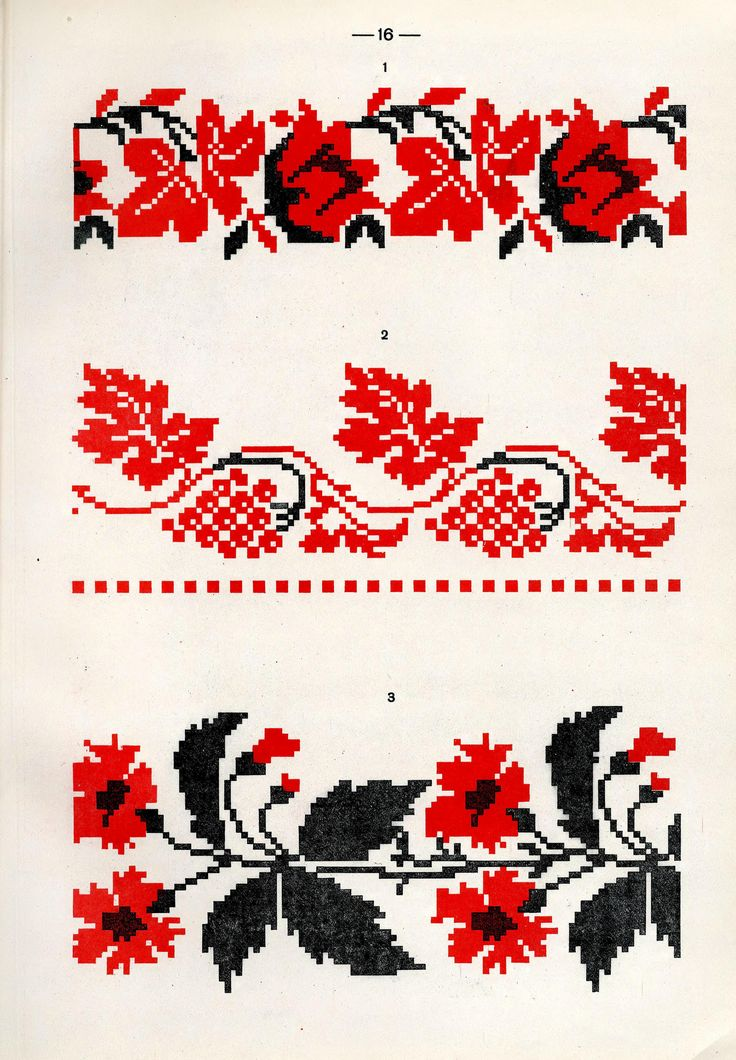 https://flic.kr/p/fQso8W | Белорусский народный орнамент - 1953_64 | Belarusian ethnic embroidery
