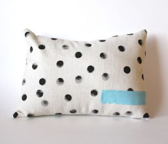 Hand Printed Pillow