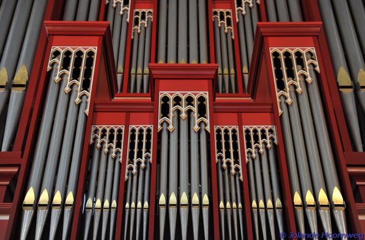 Vlisienge - grote kerk → Flentrop orgel