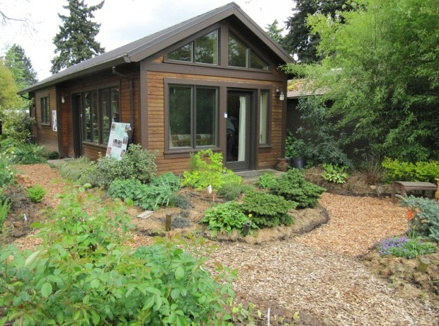 Could you live in 670 square feet if it looked like this? Peek Into Some Of Portland's Small Homes.
