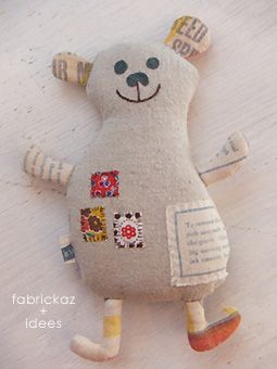 zakkaZakka Style, Crafts Ideas, Handmade Charity, Fabrics Scrap, Quilt Patchwork Crafts, Soft Toys, Kids, Crafts 2012, Softies