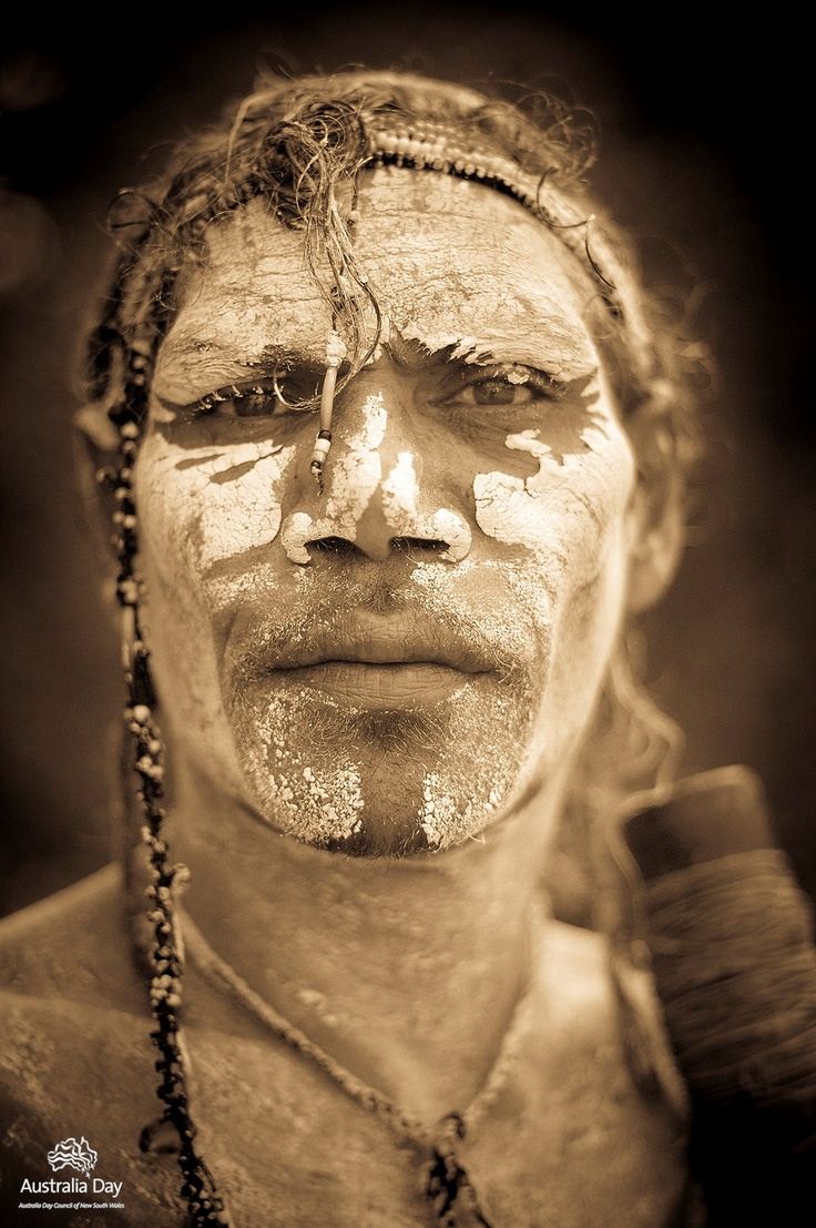 Australia   Githabul Bundjalung Man   © David Young. The image of Australia!