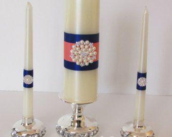 Unidad velas velas de la unidad ceremonia de por LaceyClaireDesigns