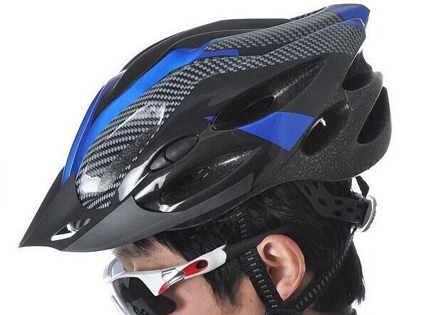 Bicycle Bike Helmet Cycling Road Visor Carbon Mountain Safety Helmets Adjustable