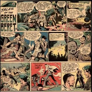 Set during the Vietnam War, it was published concurrent with the  controversial real-life conflict. Tales of the Green Beret ...