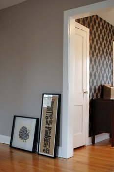 Sherwin Williams Morris Room Grey Paint Pinterest