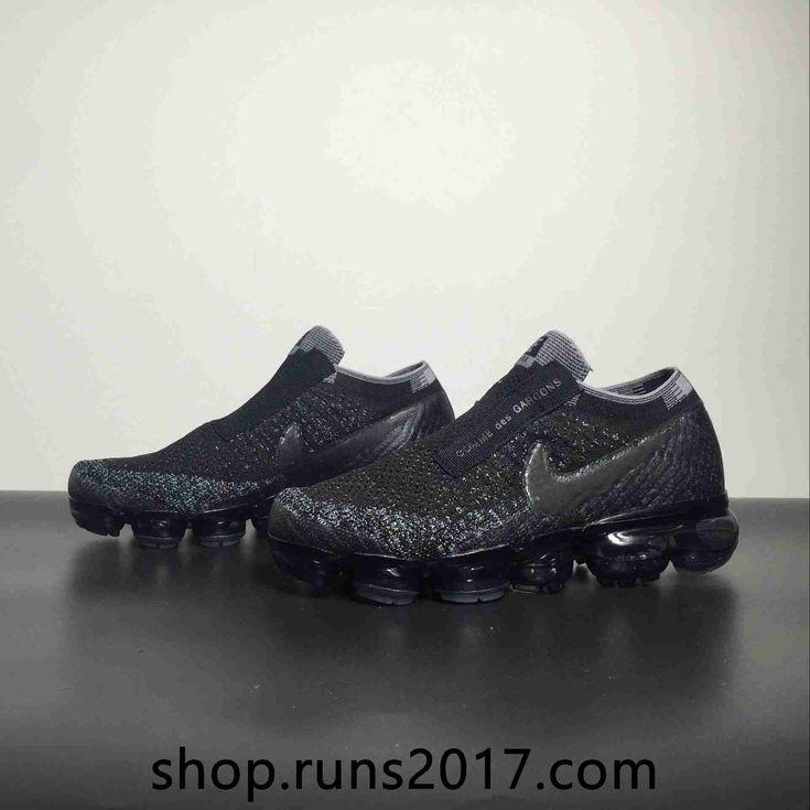 Nike Air VaporMax 2018 Flyknit Black Gray Women Men Shoes