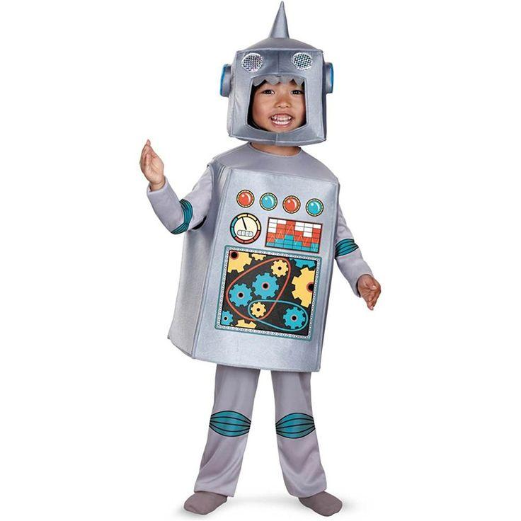 retro robot costume toddler medium donu0027t get left behind see
