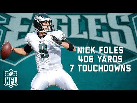That Time Nick Foles Threw More TD's than Incompletions | NFL Highlights - YouTube